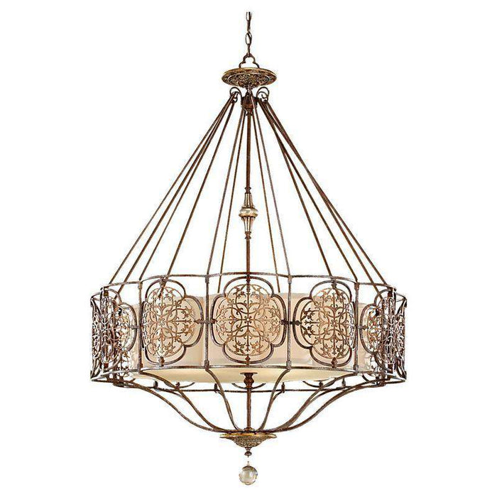 Marcella 4 Light Uplight Chandelier