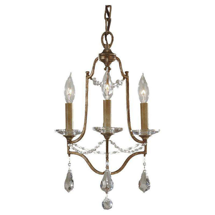 Valentina 3 Light Mini Duo Chandelier
