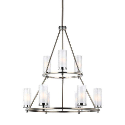 Jonah 9 Light Two Tier Chandelier