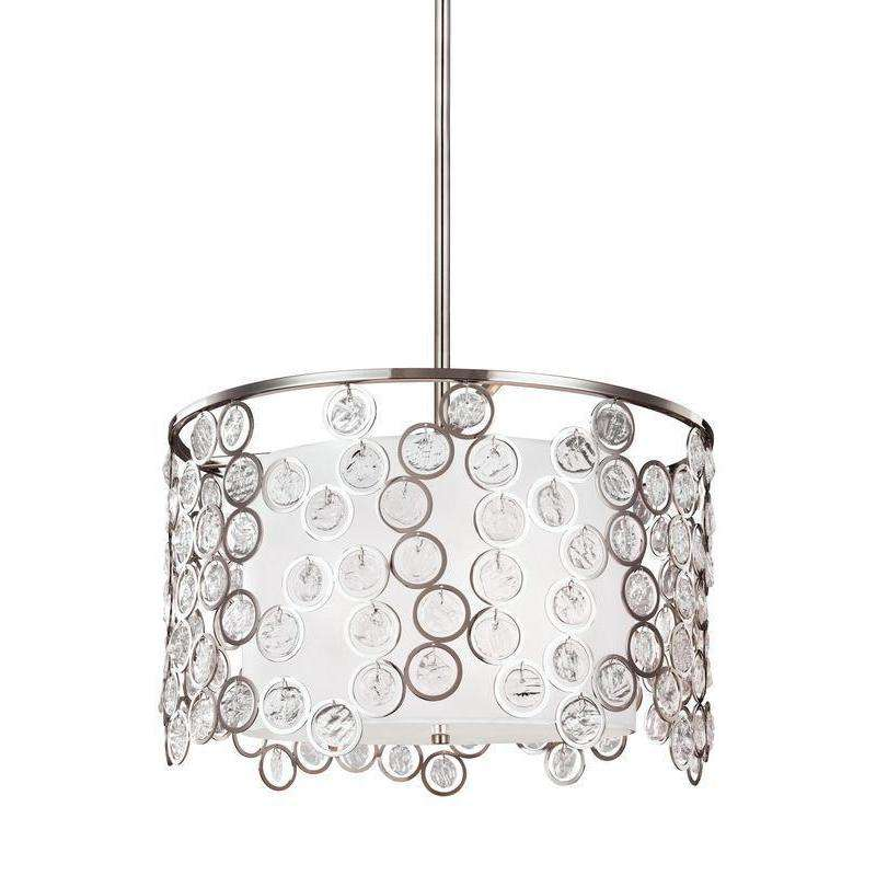 3 - Light Pendant Polished Nickel