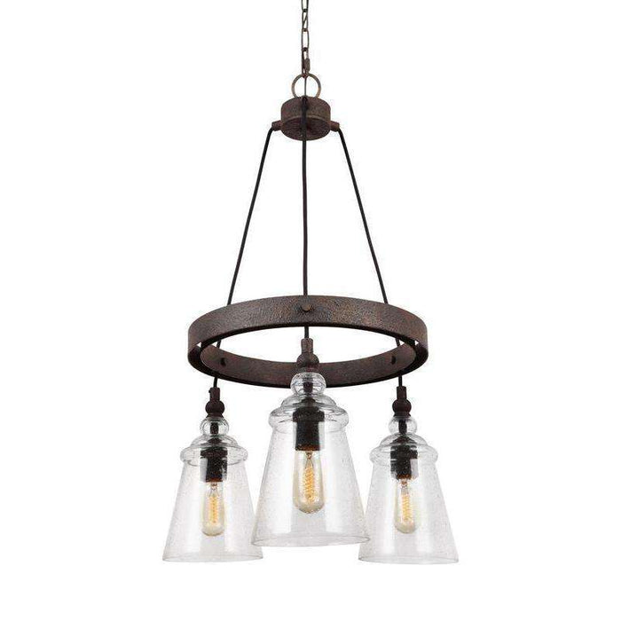 Loras 3 Light Chandelier