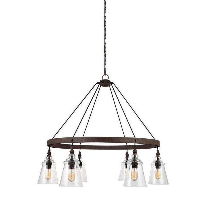Loras 6 Light Chandelier