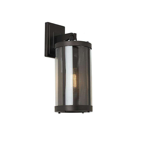 1 - Light Bluffton Outdoor Wall Sconce Outdoor Fixture Oil Rubbed Bronze