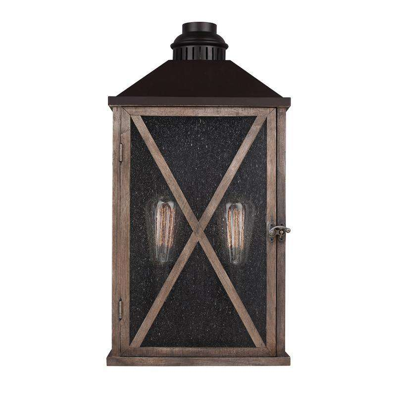 Lumiere' 2 Light Outdoor Wall Sconce