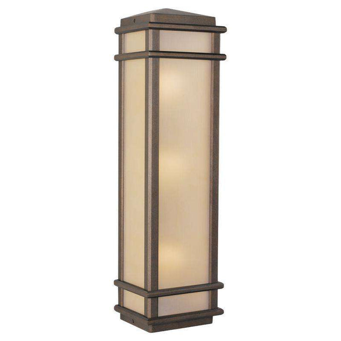 Mission Lodge 3 Light Wall Lantern