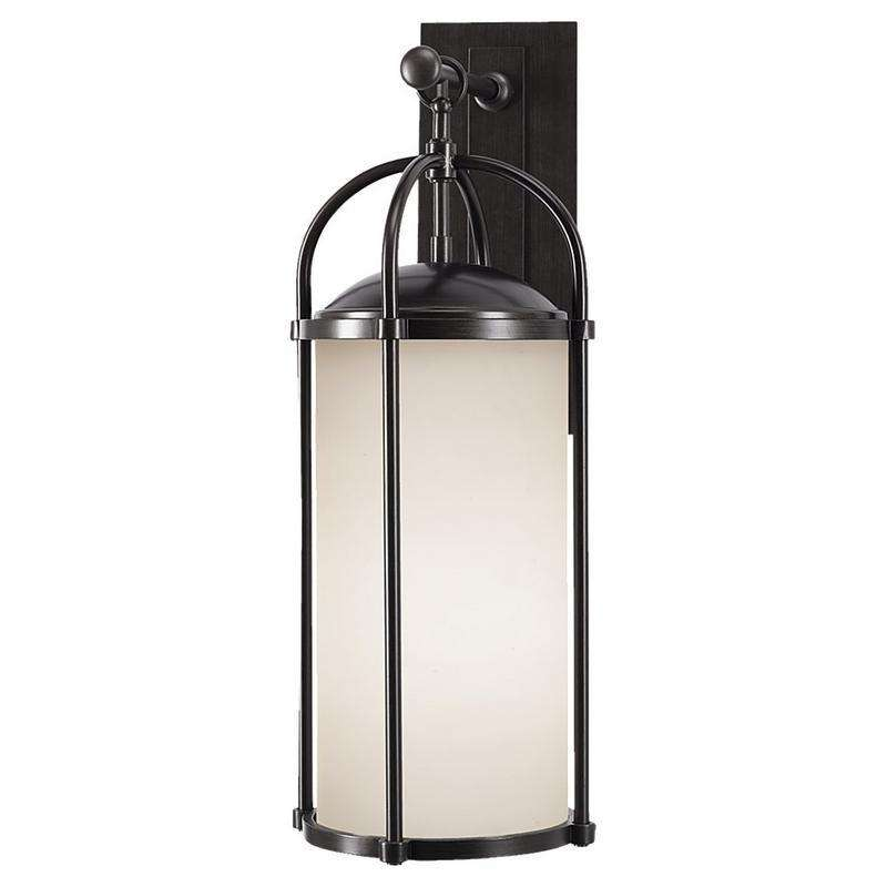 3-Light Dakota Outdoor Fixture Espresso