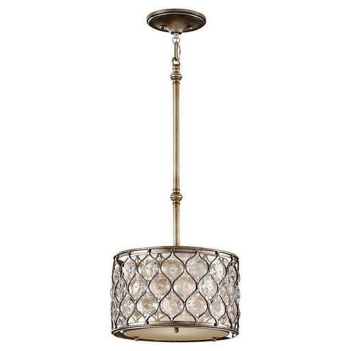 1-Light Lucia Pendant Burnished Silver