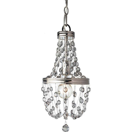 1- Light Malia Pendant Polished Nickel