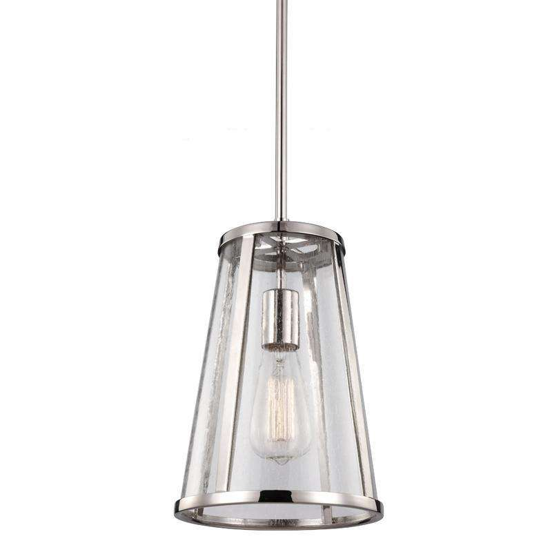 1 - Harrow Mini Pendant Polished Nickel