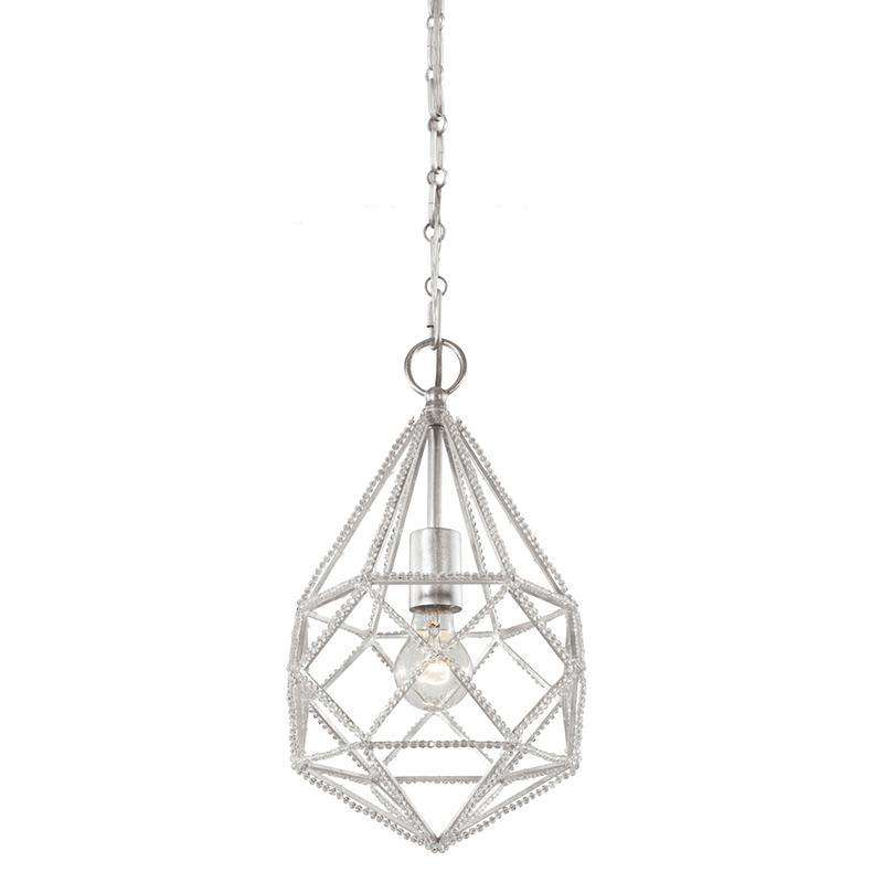 1 - Light Marquise Mini Pendant Silver