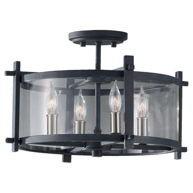Ethan 4 Light Indoor Semi-Flush Mount