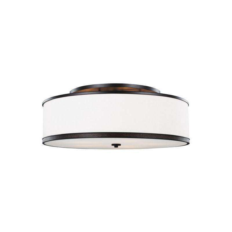 5 - Light Indoor Semi-Flush Mount Ceiling Fixture Oil Rubbed Bronze