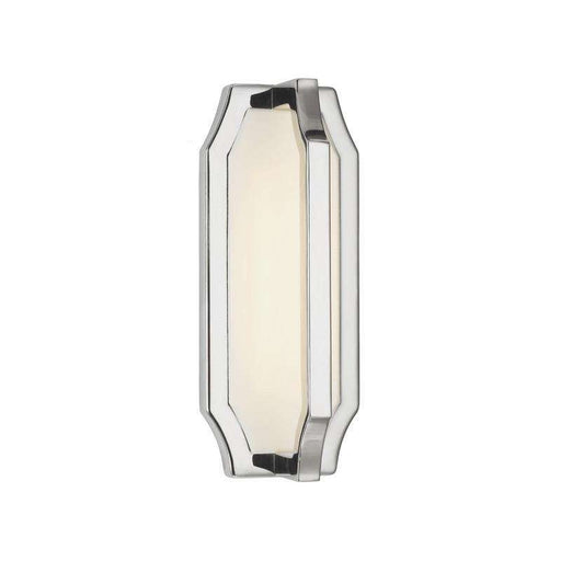 1 - Light Audrie Wall Sconce Wall Bath Fixture Polished Nickel