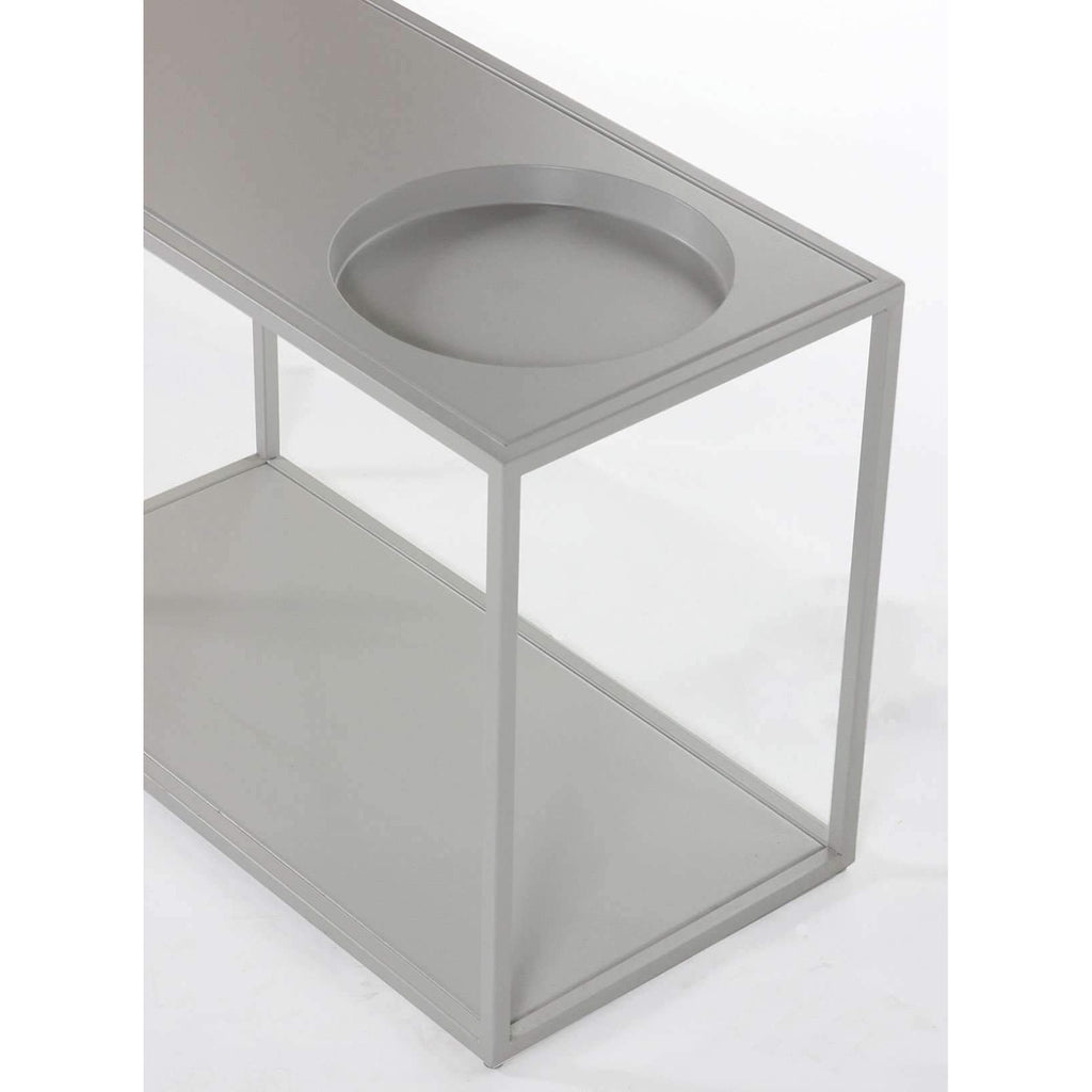 Modern Bruno Steel Table *free local shipping only *