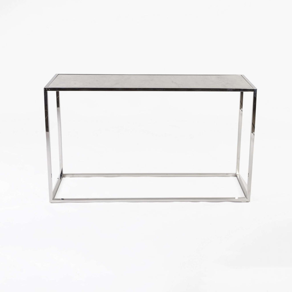 Italian Carrara Marble Tynd Console Table