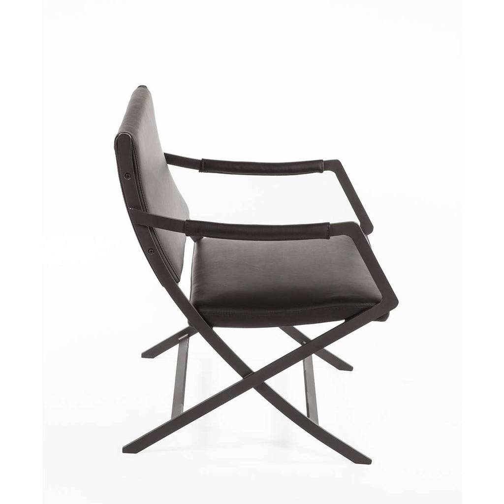 Modern Italian Style Kern Lounge Chair - Black - [new product]