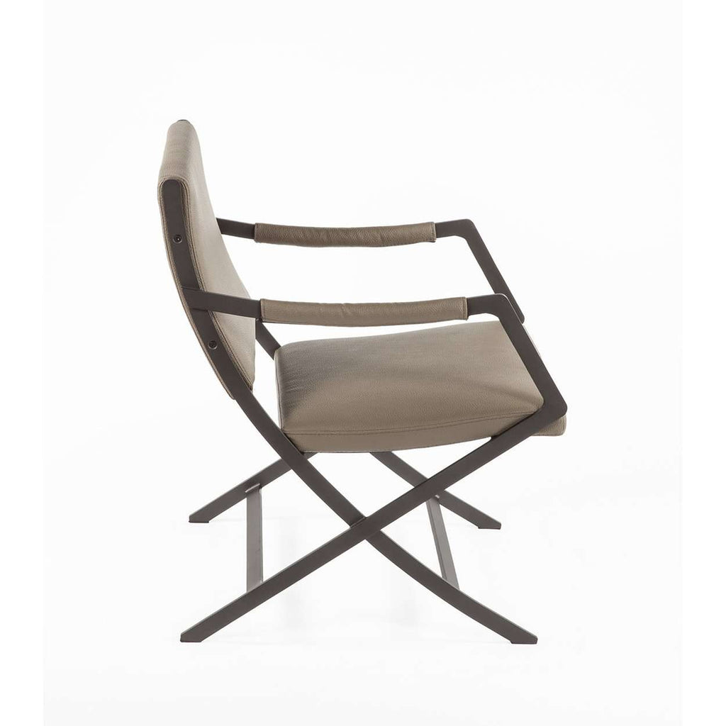 Modern Kern Lounge Chair - Taupe