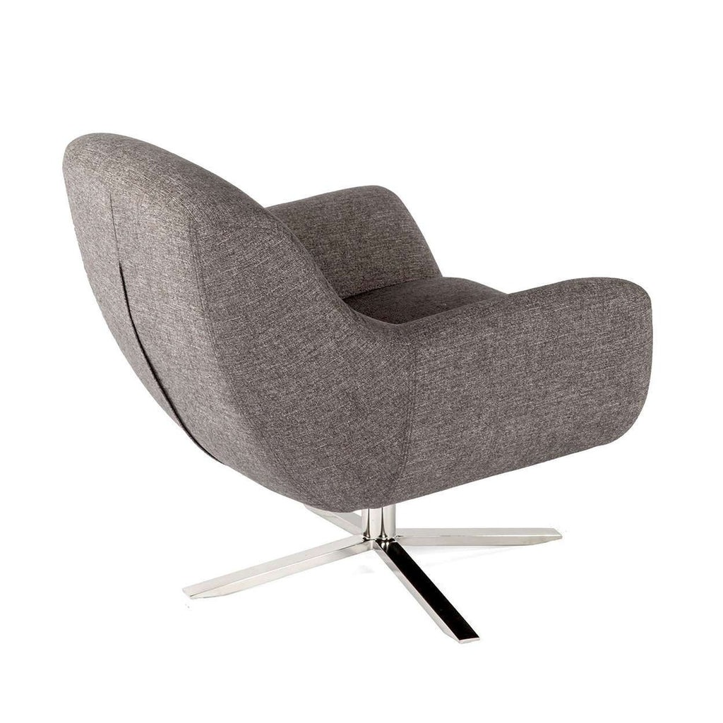 Arvid Lounge Chair - Brown