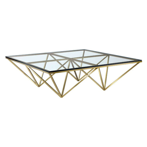 Aldana Coffee Table - Gold [New Product] free local shipping only*****