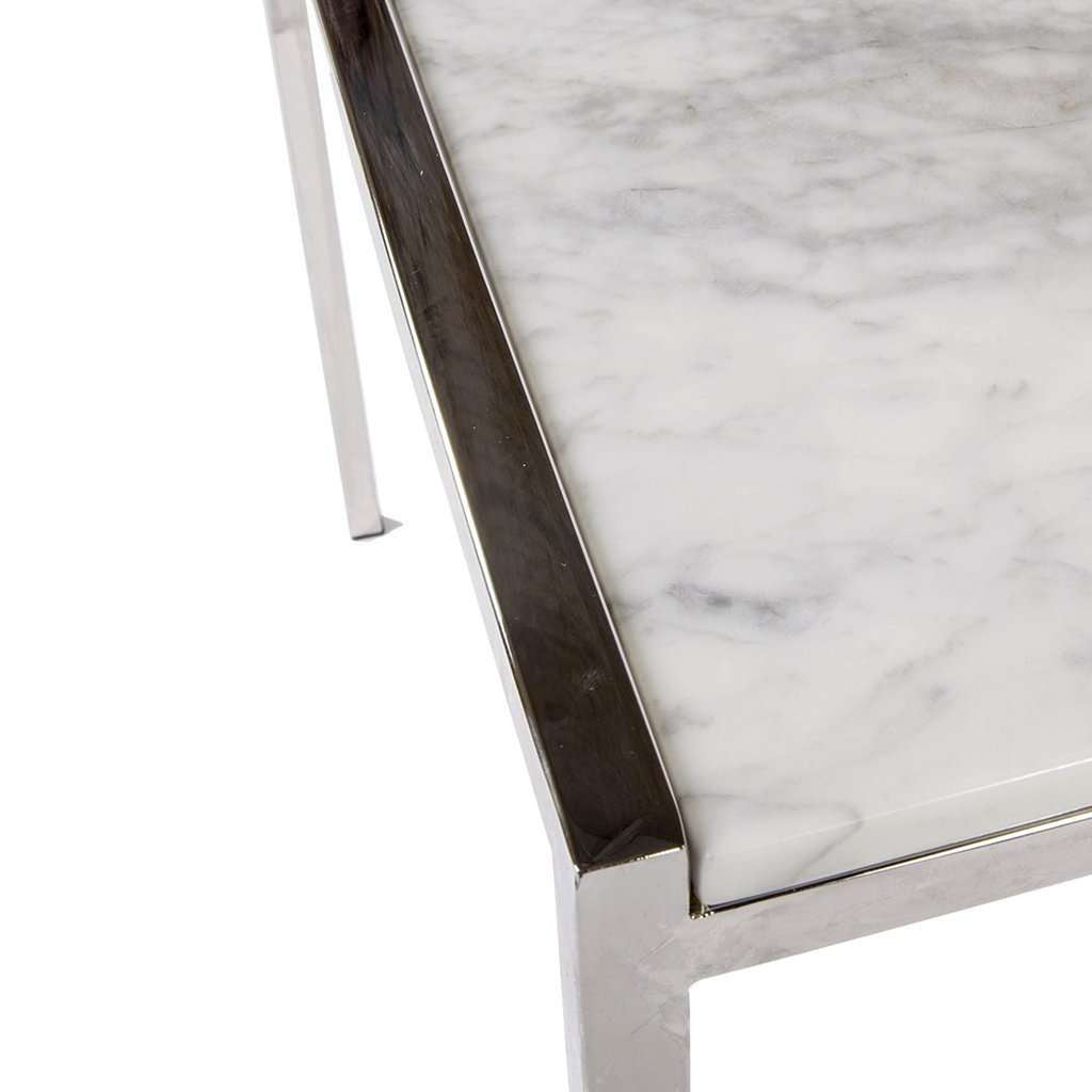 Italian Carrara Marble Pind Table