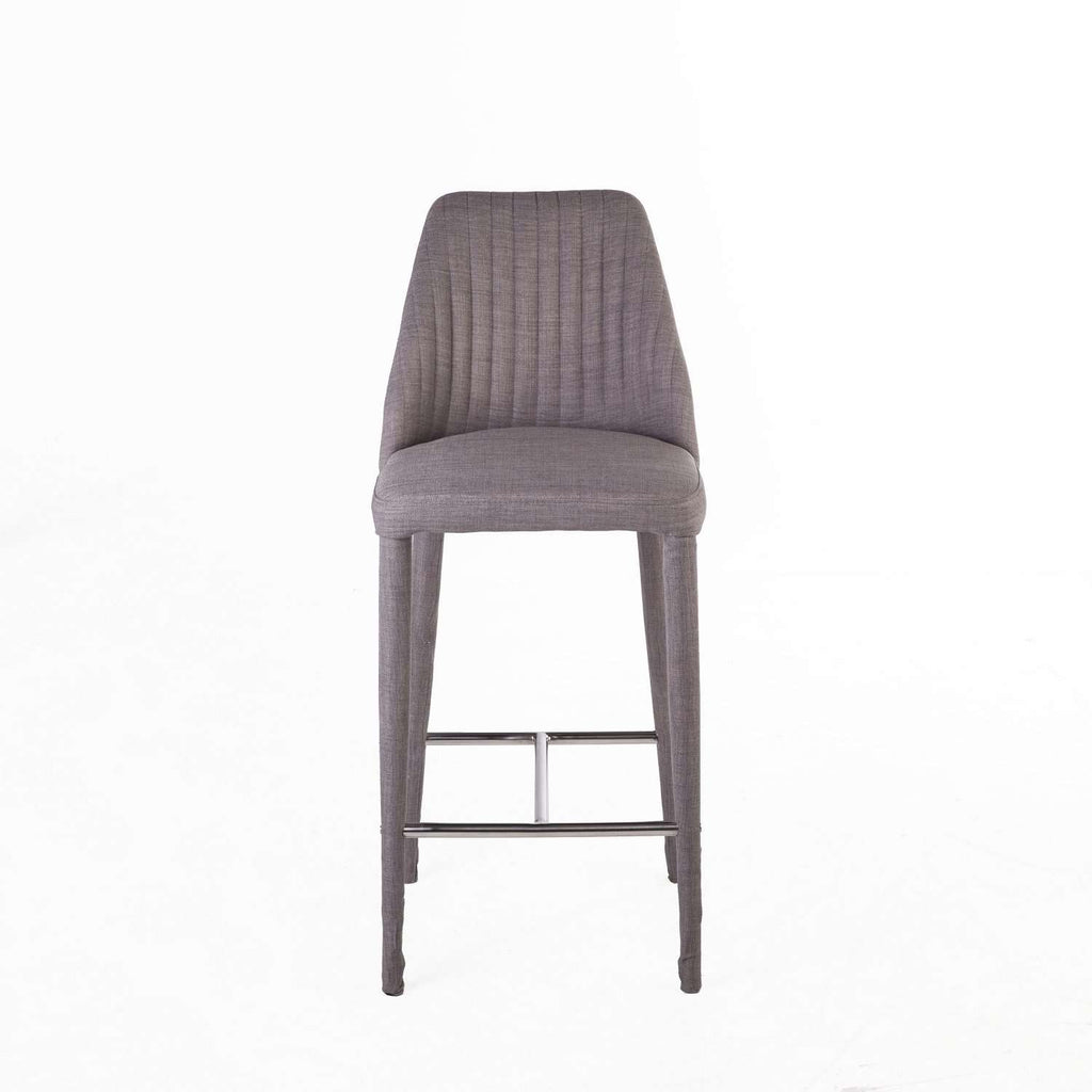 Electra Ribbed Counter Stool  free local shipping only****
