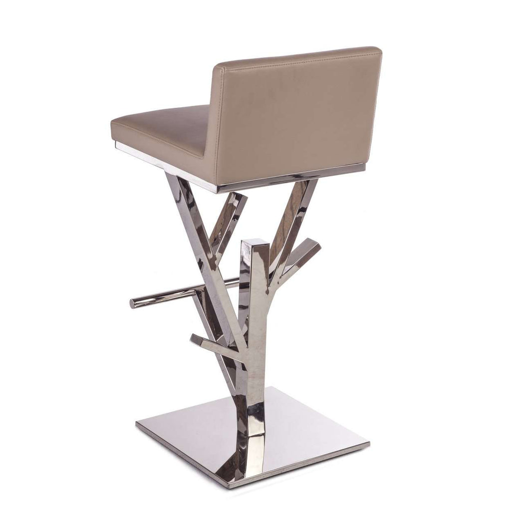Gannon Bar Stool - Taupe  [new product] free local shipping only*****