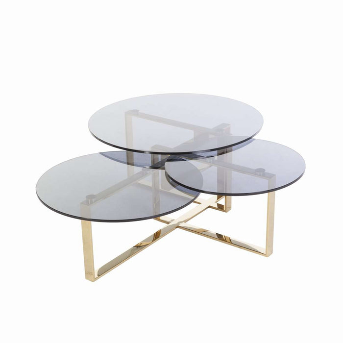 Bertt Coffee table - Gold