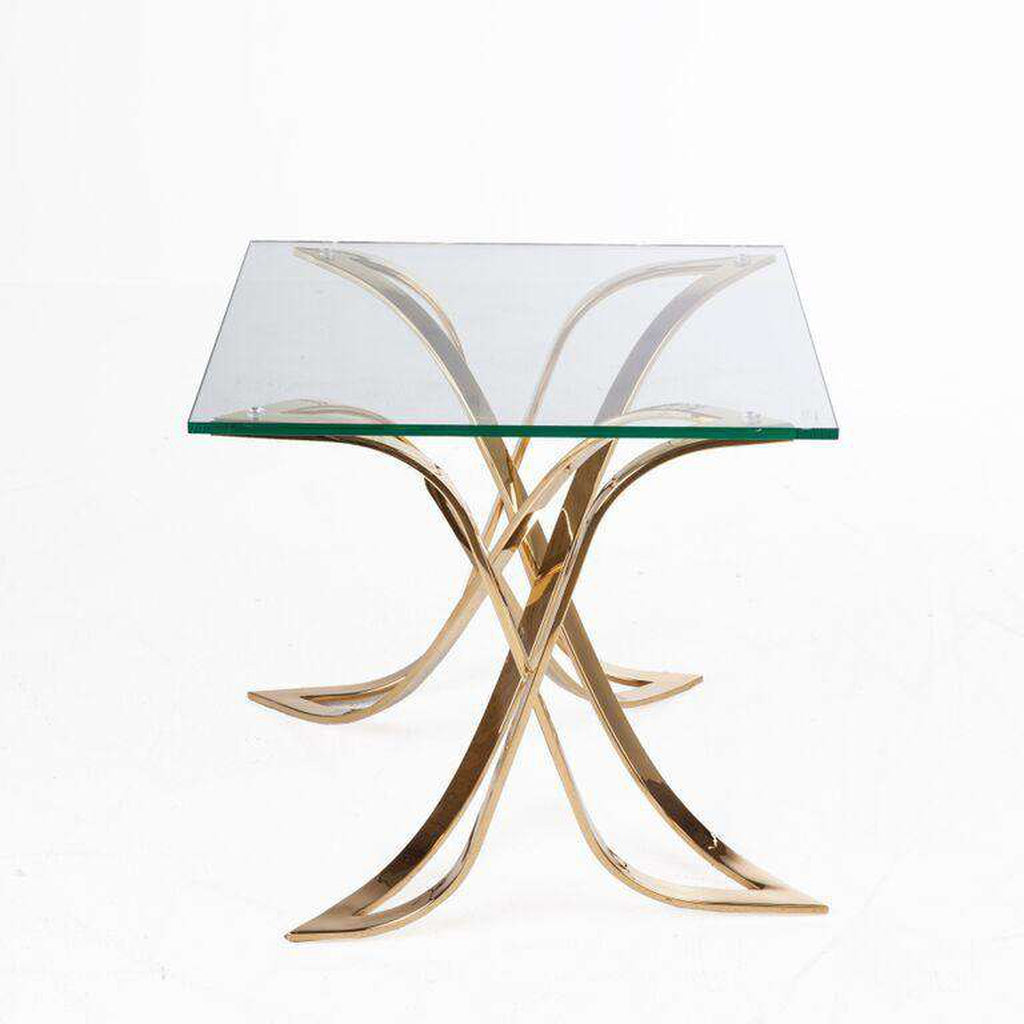 Modern Jiles Side table - Gold *free local shipping only*