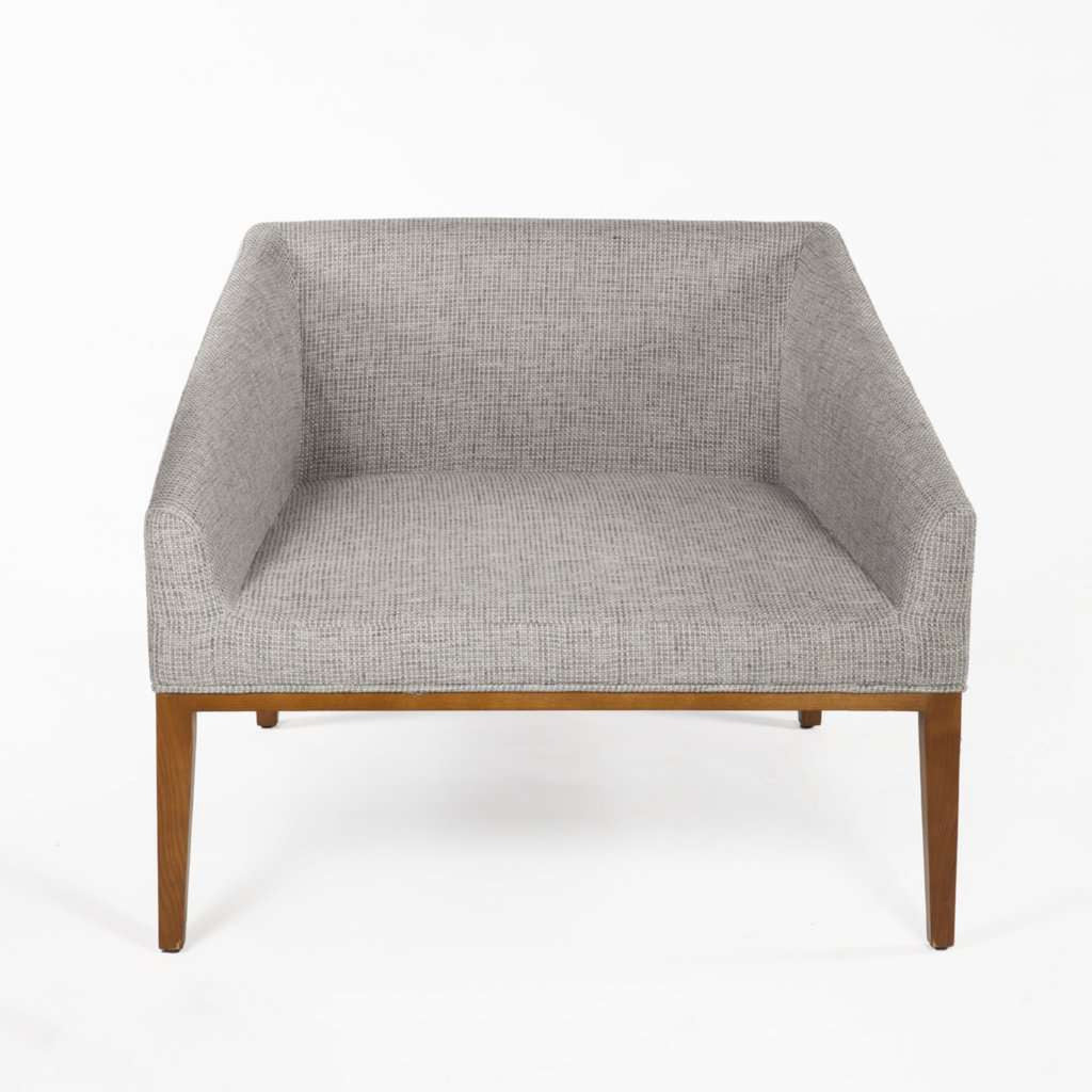 Mid Century Darrock Lounge Chair - Grey