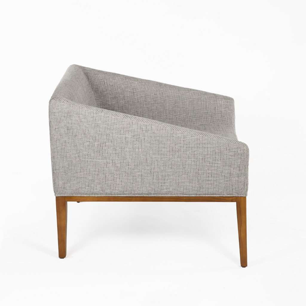 Custom Darrock Lounge Chair - Grey