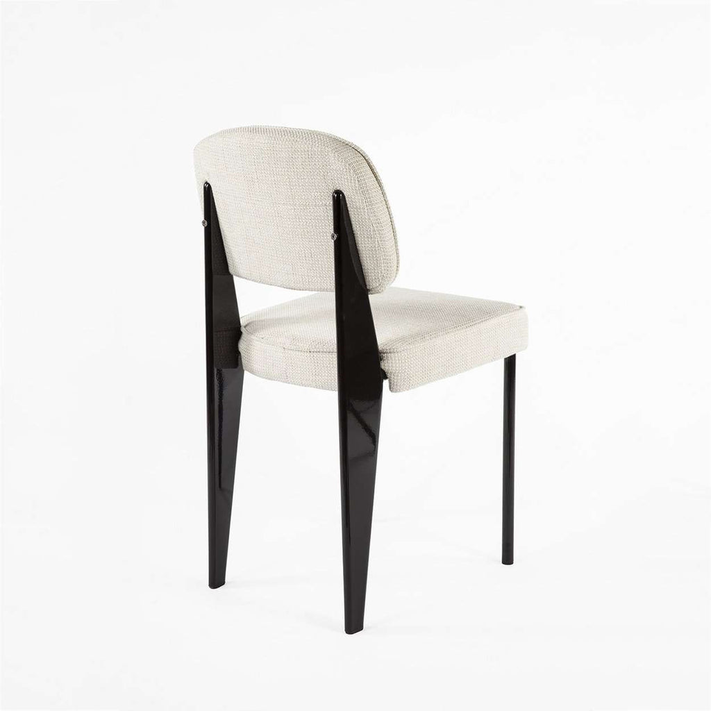 Custom Mid Century Prouve Standard Chair - Black