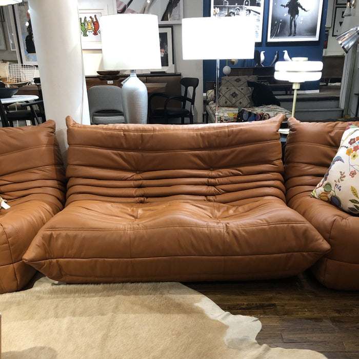 Lazy Lounger Sectional - Leather
