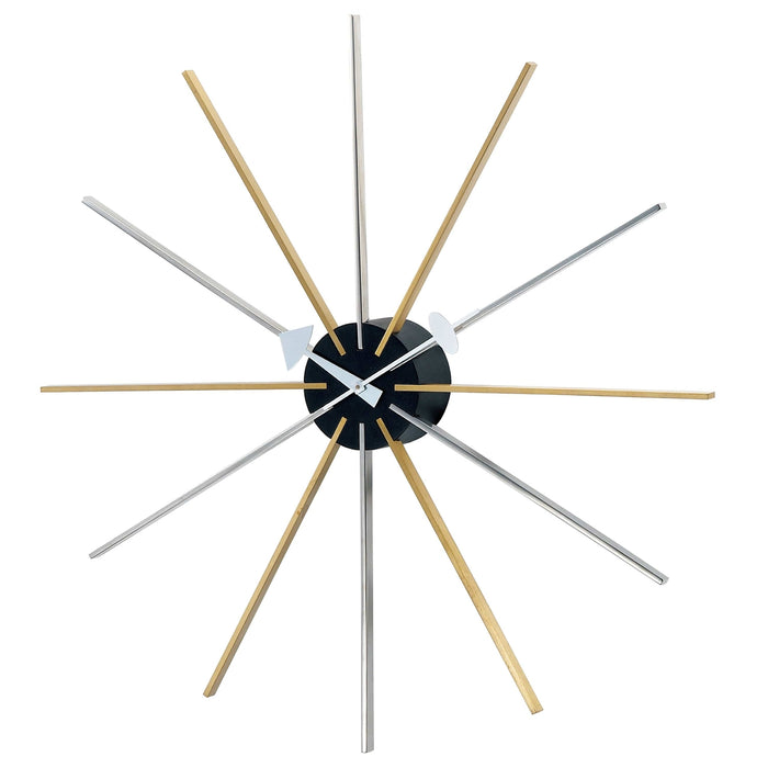 Mid Century Star Clock