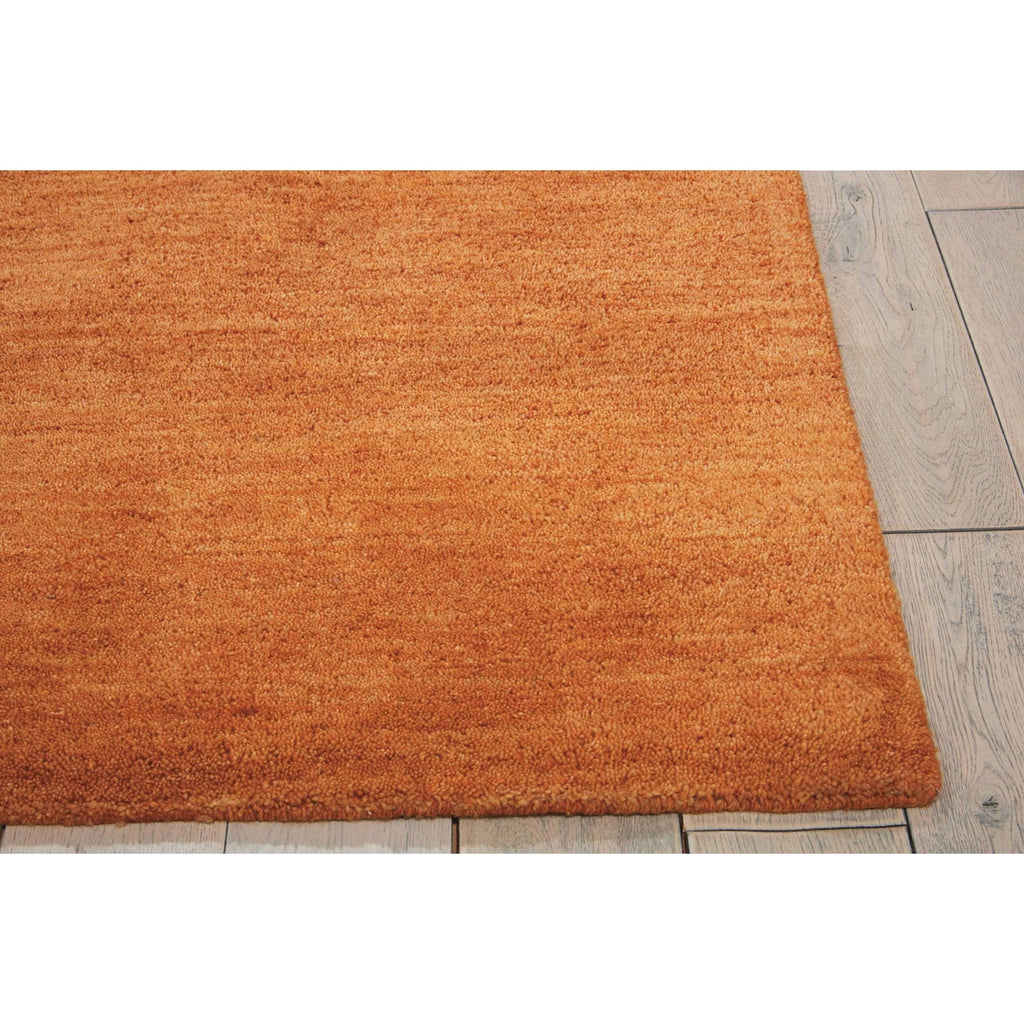 Calvin Klein Linear Glow Watercolor Cumin Area Rug