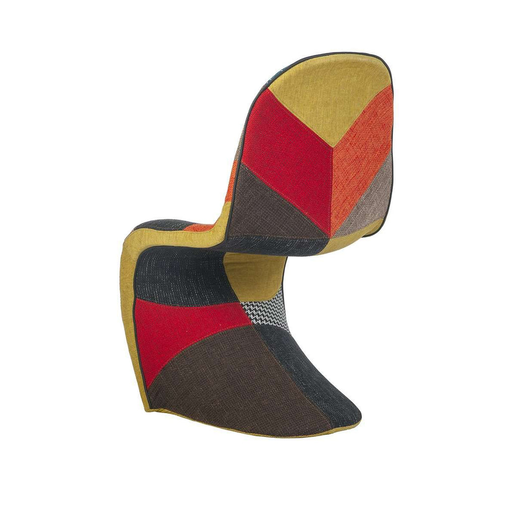 Mid Century Modern Reproduction Panton S Chair Patchwork