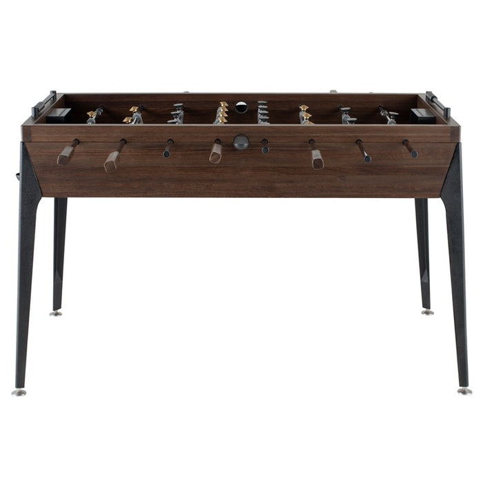 Foosball Gaming Table - Smoked Oak