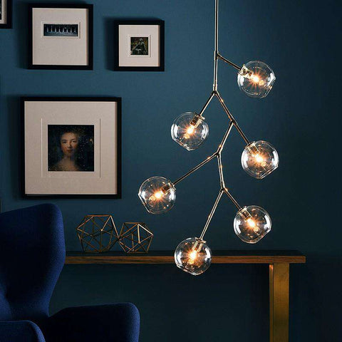 Atom 6 Light Chandelier