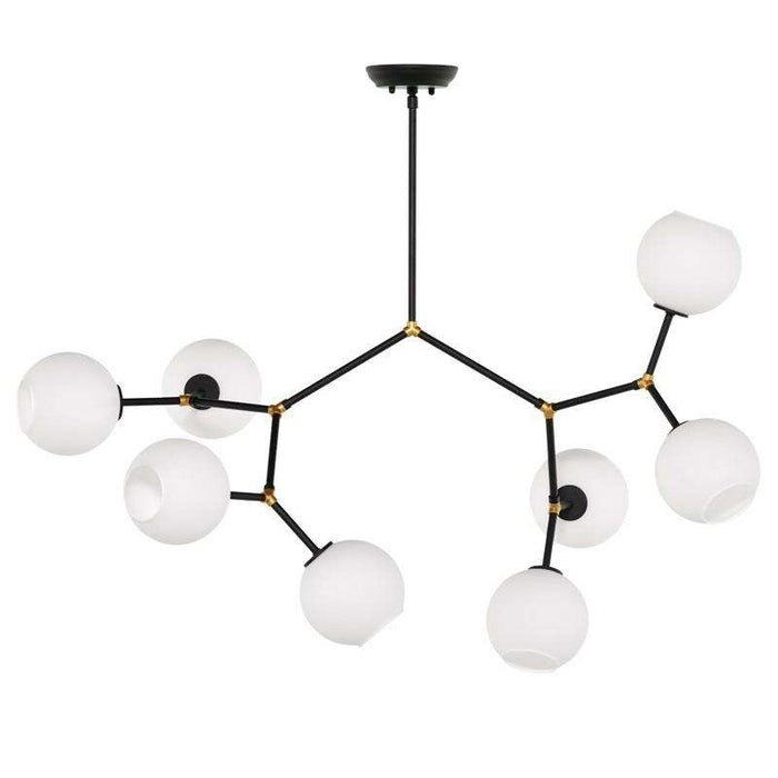 Atom 8 Light Chandelier