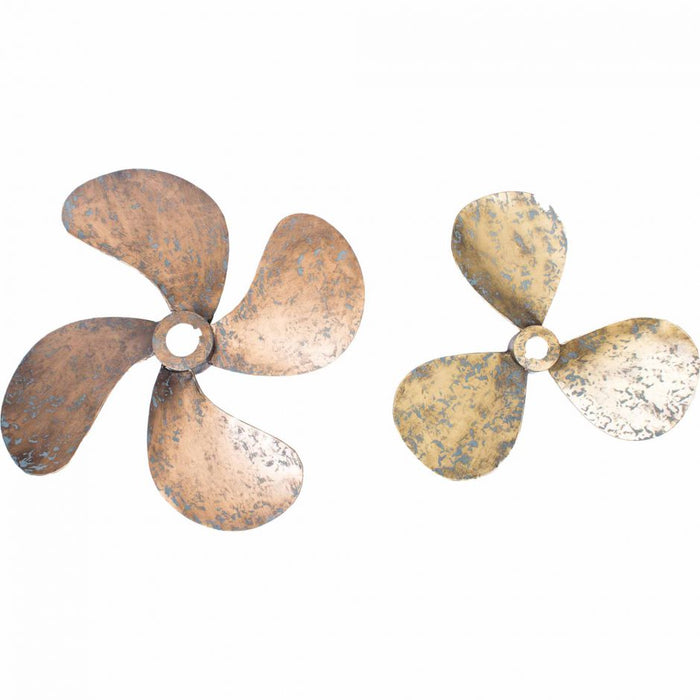 PROPELLERS WALL DECOR SET OF 2
