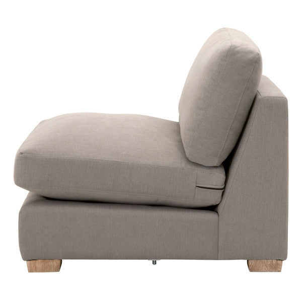 Hayden Modular Taper 1-Seat Armless Sofa Chair