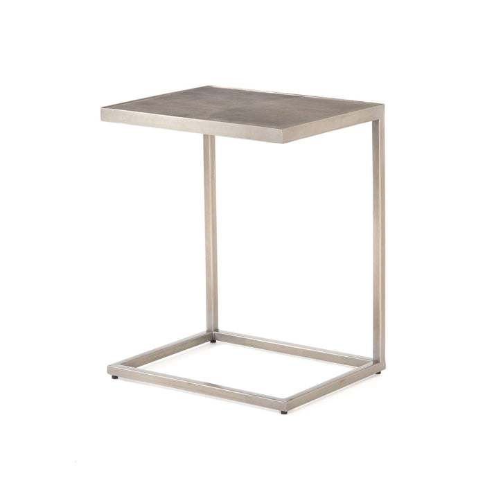 Cutler C Table-Antique Pewter