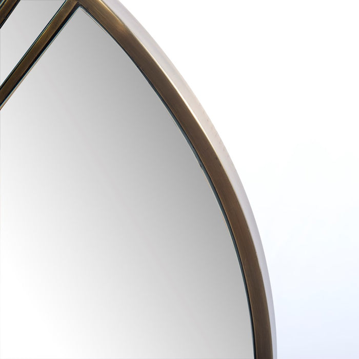 Julius Mirror - Antique Brass