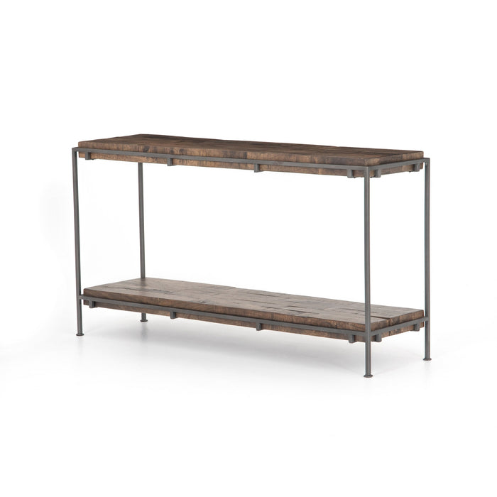 Simien Console Table-Gunmetal
