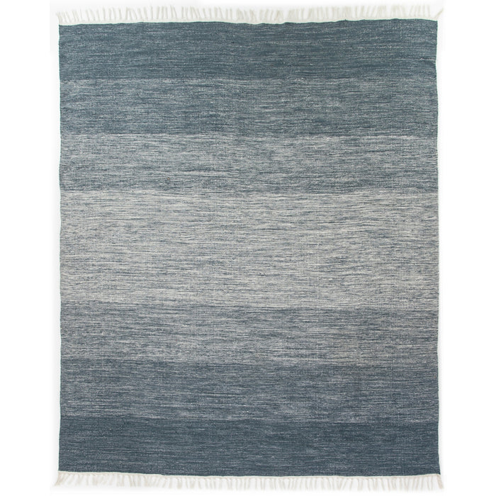 Loma Outdoor Rug, 5x8'-Navy