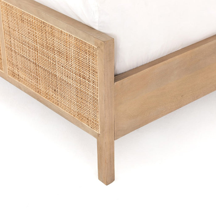 Sydney Premium Queen Bed - Natural