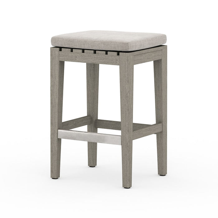 Dale Outdoor Counter Stool-Grey/Stone Grey