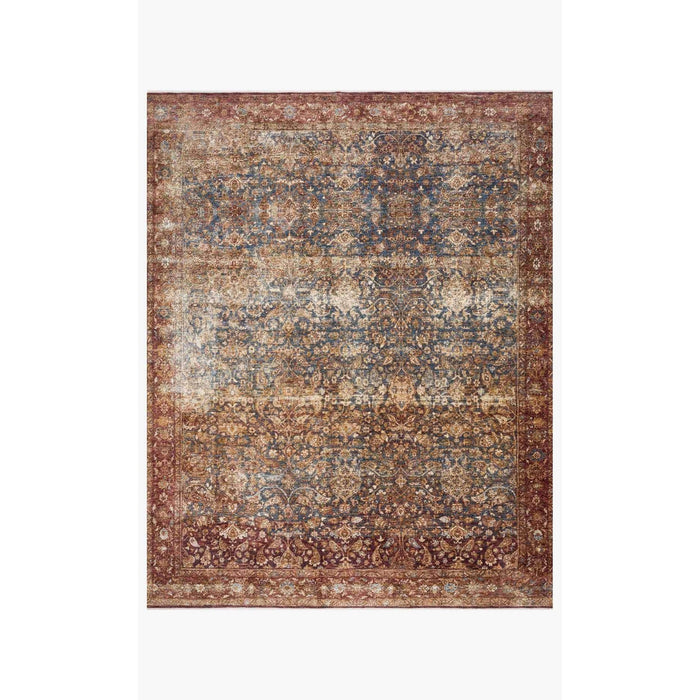 Magnolia Home Kennedy KEN-05 Denim / Brick Area Rug