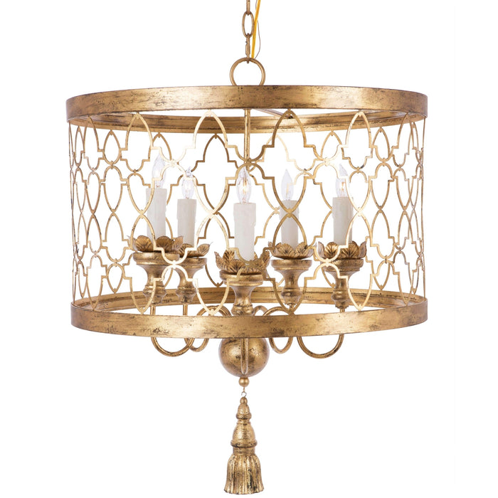 Fiesole Gold Chandelier