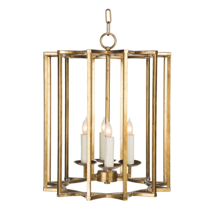 Chan Geo Colllection Look # 2 Small Chandelier Gold