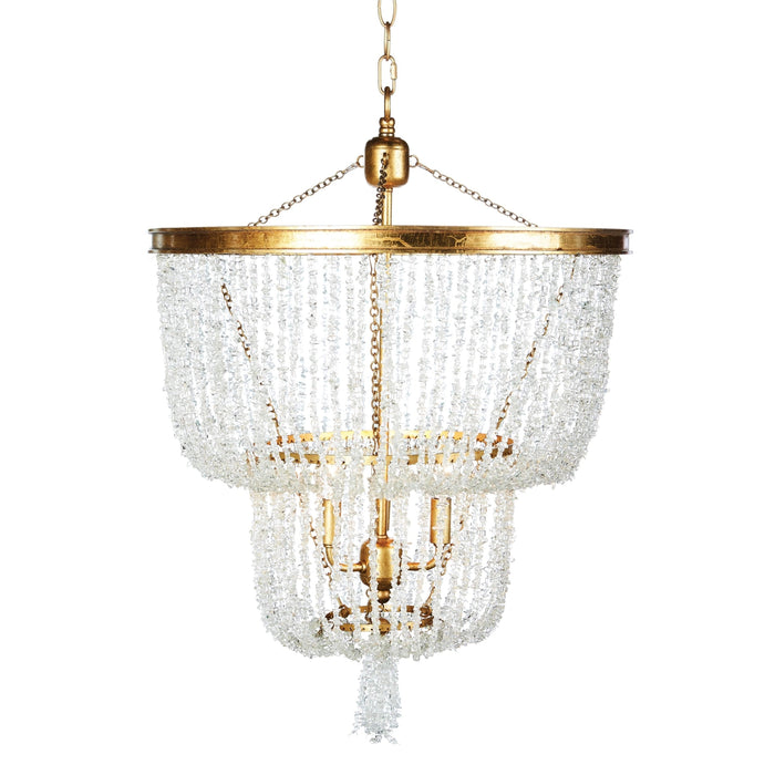 Stone River Crystal Two-Tier Chandelier